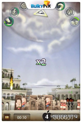 Игра BABEL Rising - симулятор Бога на iOS