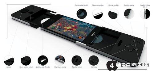 Gaming Pod - концепт нового игрового чехла для iPhone
