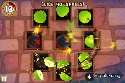 Игра Fruit Ninja: Puss in Boots