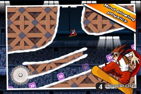 Обзор игры iStunt 2 - Snowboard