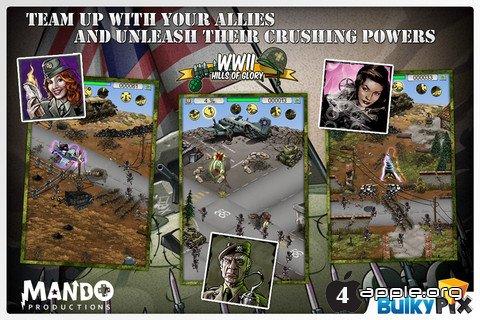 Игра Hills of Glory: WWII Premium