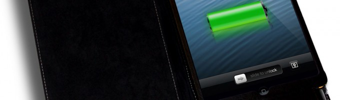 Батарея в The new iPad