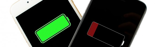 батарея на iPhone