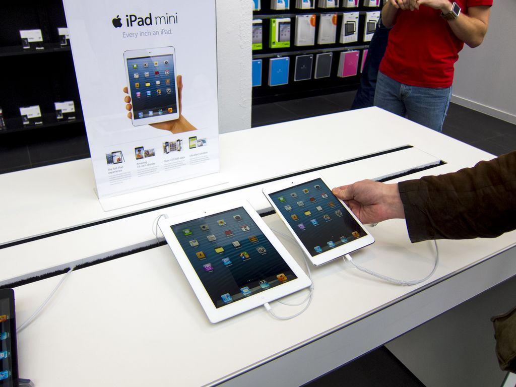 Импорт iPad