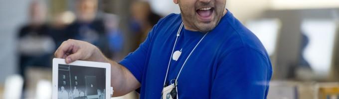 Apple - скидка сотрудникам