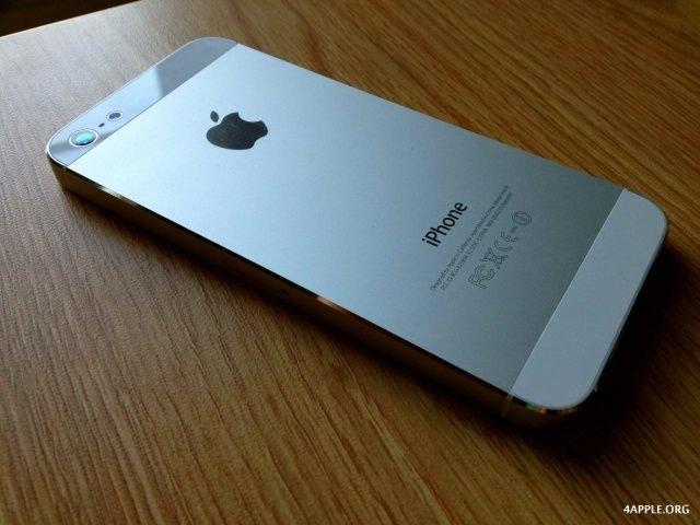 iphone 5 белый фото