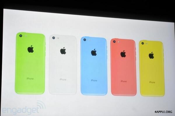 цвета iphone 5c фото