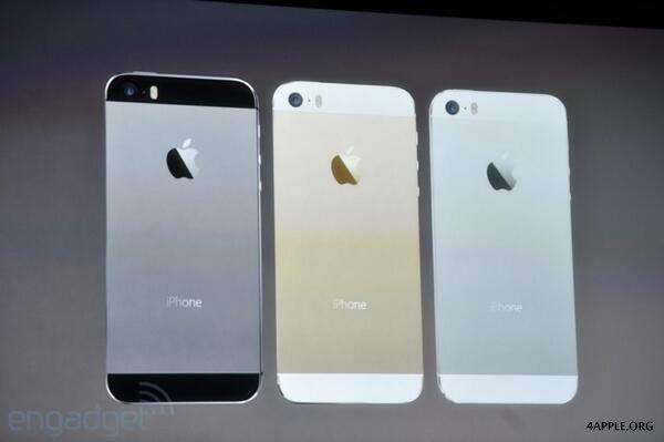 iphone 5s цвет