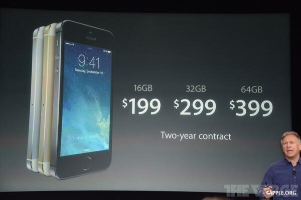 iphone 5s цена