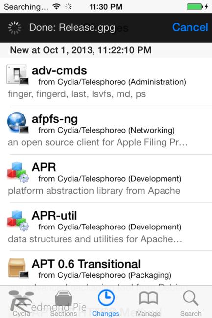 Успешная установка Cydia на iPhone под управлением iOS 7 - Джейлбрейку быть!