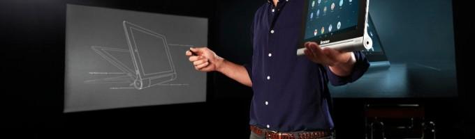 Эштон Кутчер помогал Lenovo разрабатывать новый планшет