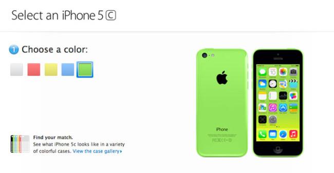 Красный, синий, голубой – выбирай себе любой! Самые трендовые цвета iPhone 5S и 5С