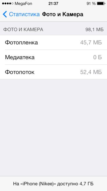 Как освободить более 1Гб памяти на iPhone и iPad?