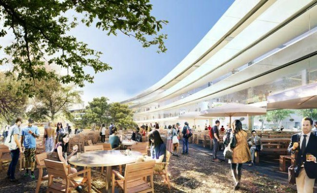 Новые эскизы Apple Campus 2
