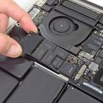 SSD накопитель нового MacBook Pro 15 показывает рекордную скорость обмена данными