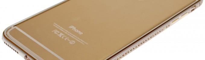 Золотой iPhone 6