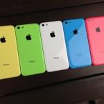 Выпуск iPhone 5c сократился в 4 раза