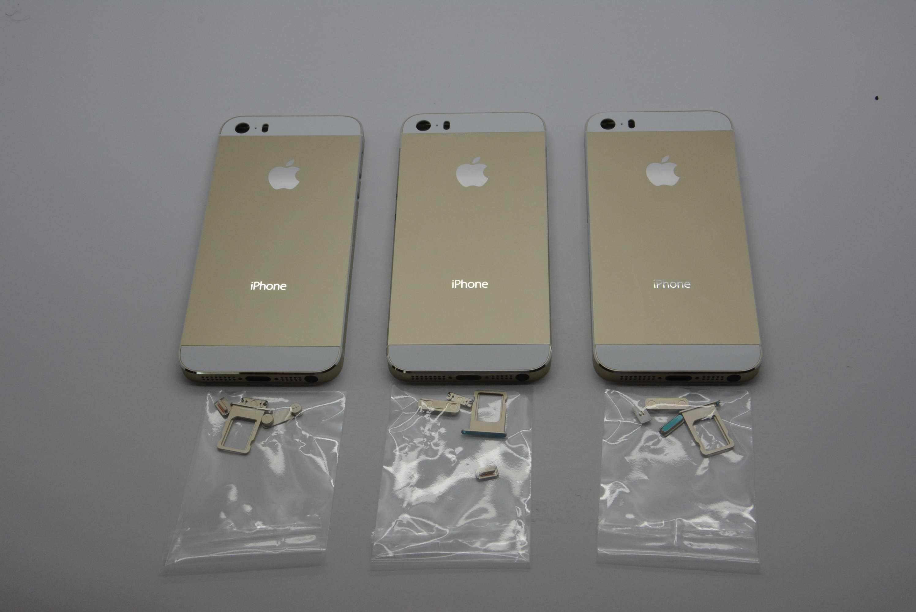 Золотой iPhone 5c