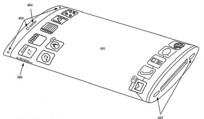 Патент на изогнутый дисплей. Пойдет ли Apple по стопам LG?