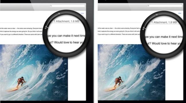 Apple готовит альтернативу для Retina?