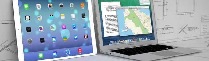 "Apple тестирует дисплеи для iPad 12,9"""