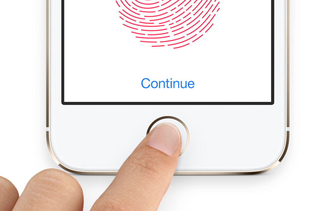 Touch ID в iPhone 5s
