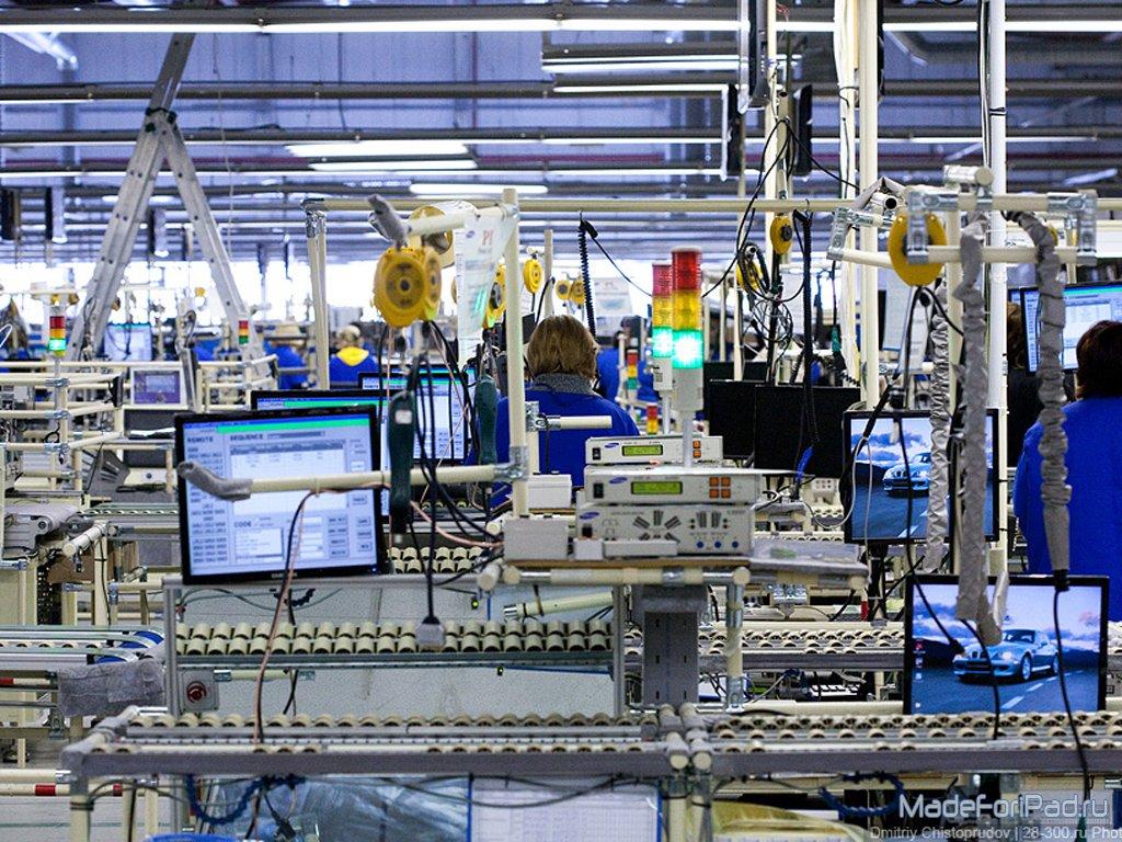 Завод Apple изнутри