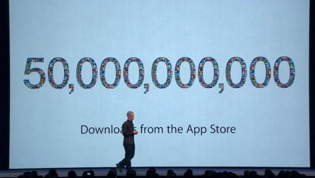 Объемы продаж в App Store достигли рекордных $10 млрд. в 2013 году