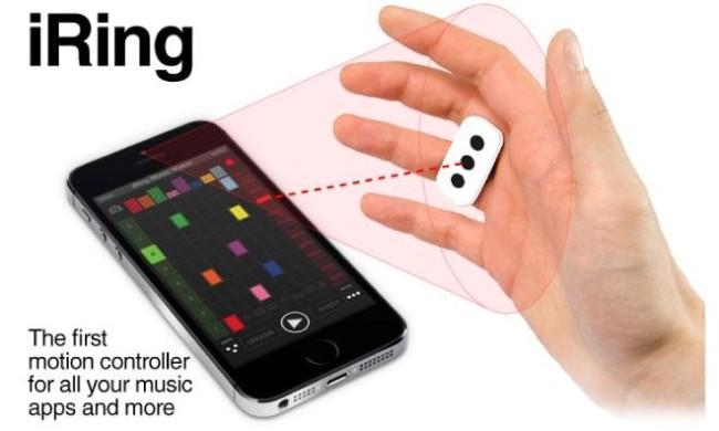Устройство iRing позволит управлять iOS при помощи жестов