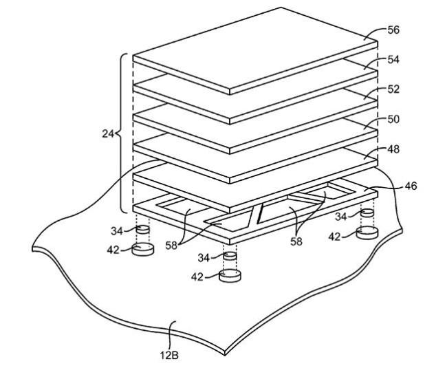 Опубликован патент Apple на сенсорный трекпад
