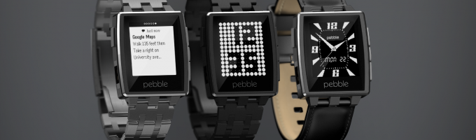 """Pebble выпустит """"умные часы"""" в металлическом корпусе"""