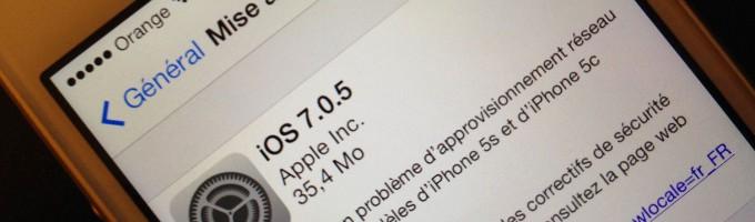 iOS 7.0.5