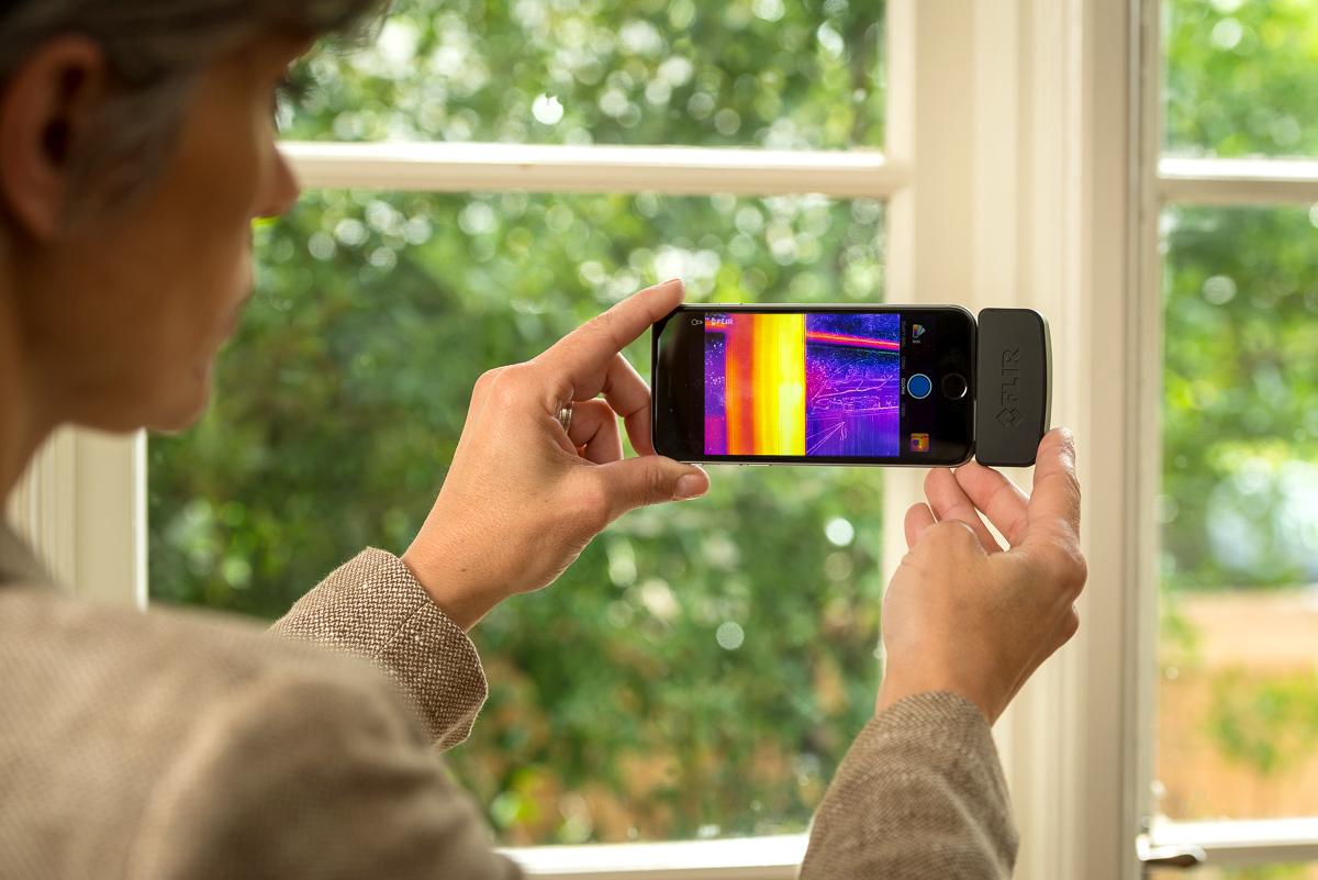 iPhone тепловизор