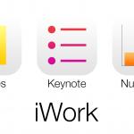 Apple обновила пакеты iWork для iOS и OS X