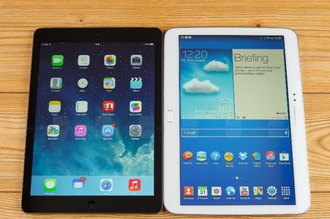 Планшеты Galaxy Pro от Samsung оказались популярнее iPad