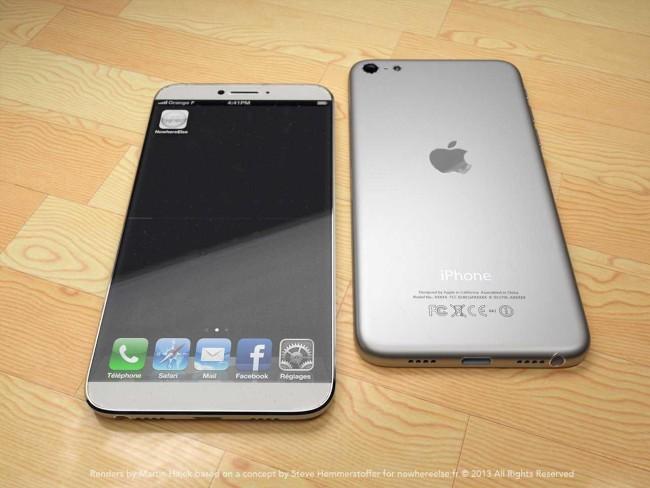 Прогноз: iPhone 6 получит ультратонкий безель