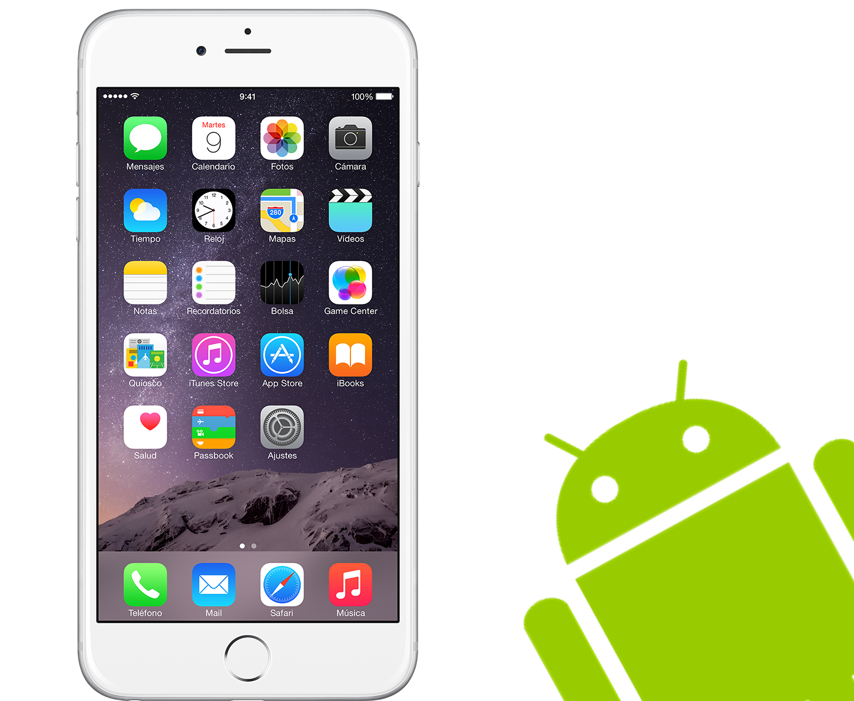 iPhone должен работать на Android