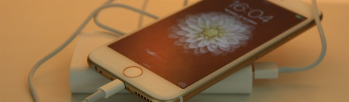 зарядить iPhone