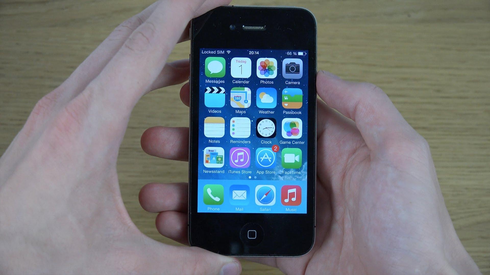 iPhone 4 на iOS 7.1
