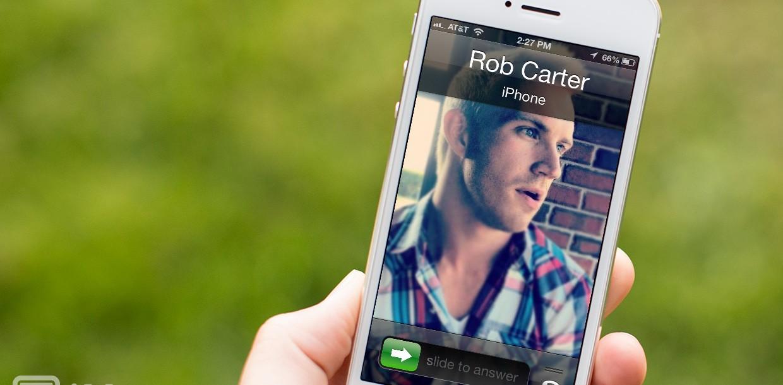 Как сделать при звонке на весь экран на айфоне 6