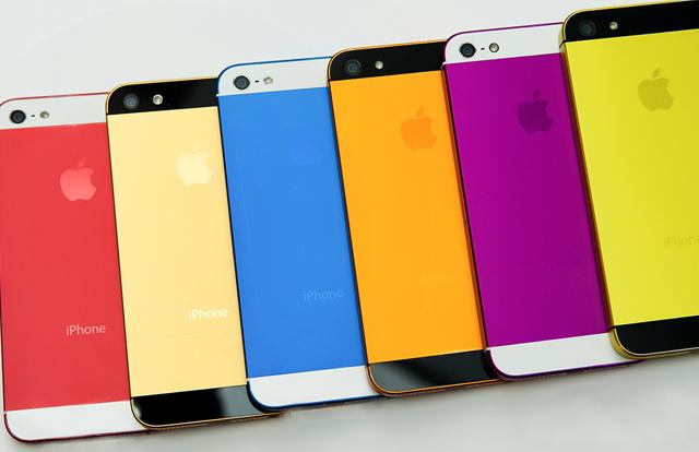 Цветовая линейка iPhone 5s