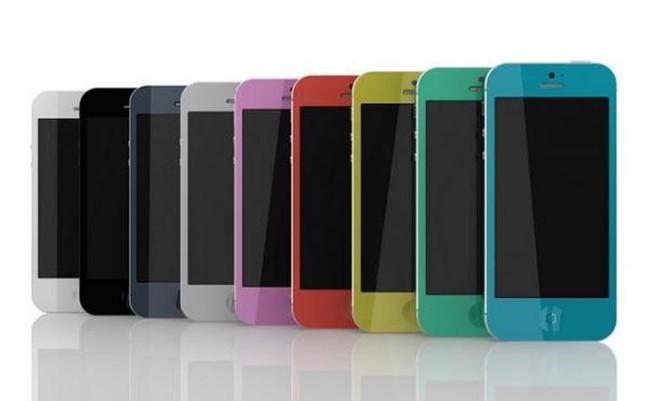 iPhone 5s - цветовая палитра