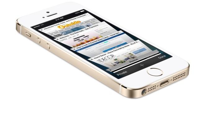 iPhone 5s лицевая сторона