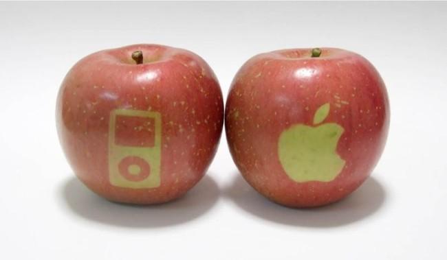 надкушенное яблоко - логотип компании Apple