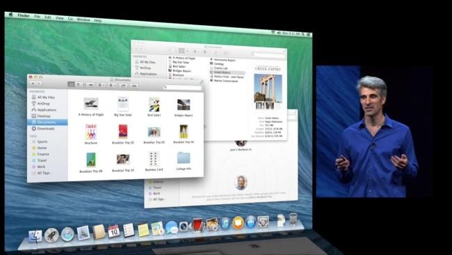 Представление Mac OS X 10.9