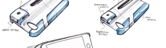 Atomyzer - духи для смартфона