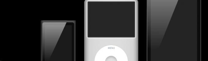 виды iPod