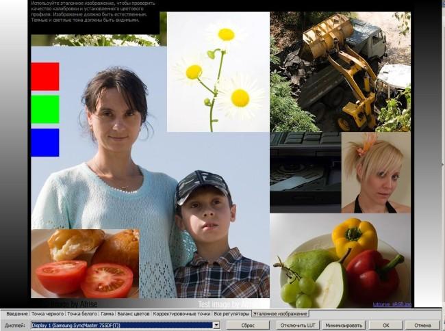 Atrise lutcurve - программа для цветовой калибровки монитора