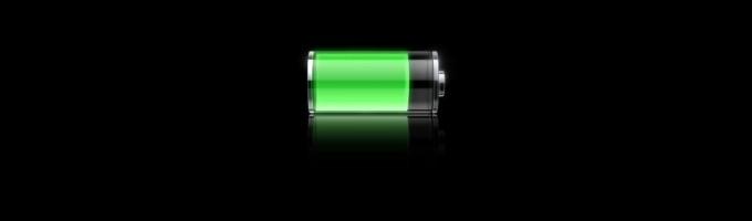 напоминание при разрядке батареи