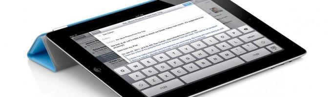 работа на iPad 2